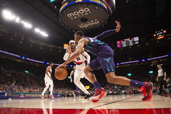 Charlotte Hornets at Portland Trail Blazers - 3/1/21 NBA Picks and Prediction