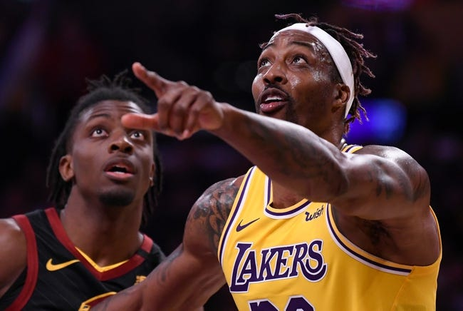 Cleveland Cavaliers vs Los Angeles Lakers NBA Picks, Odds, Predictions 1/25/21