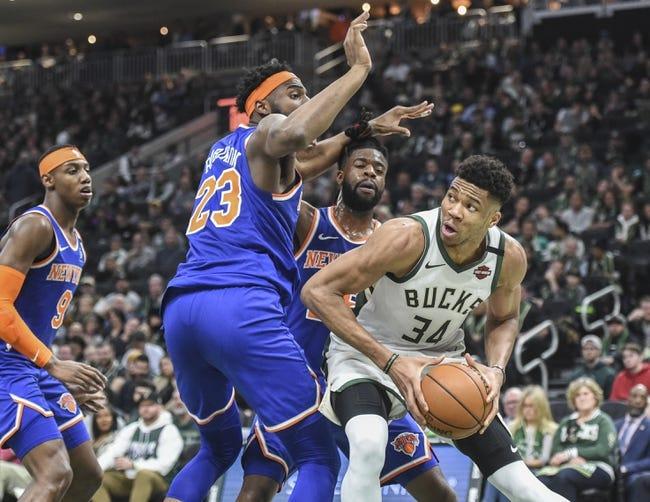 New York Knicks vs Milwaukee Bucks NBA Picks, Odds, Predictions 12/27/20