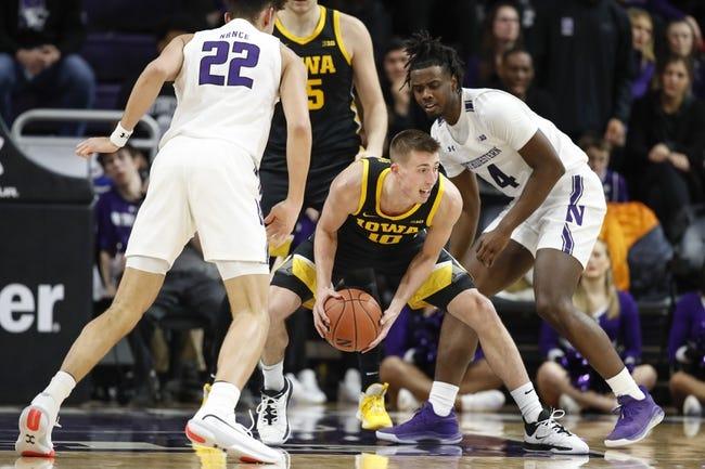 Iowa vs Northwestern College Basketball Picks, Odds, Predictions 12/29/20