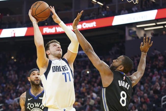 Golden State Warriors at Dallas Mavericks - 2/4/21 NBA Picks and Prediction