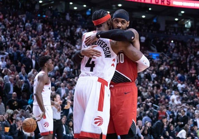 Toronto Raptors at Portland Trail Blazers - 1/11/21 NBA Picks and Prediction