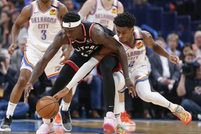 Toronto Raptors at Oklahoma City Thunder - 3/31/21 NBA Picks and Prediction