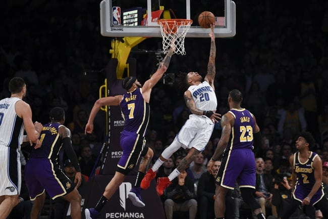 Orlando Magic at Los Angeles Lakers - 3/28/21 NBA Picks and Prediction