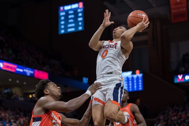 Syracuse  at Virginia  - 1/25/21 College Basketball Picks and Prediction