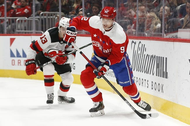 Washington Capitals vs New Jersey Devils NHL Picks, Odds, Predictions 2/21/21
