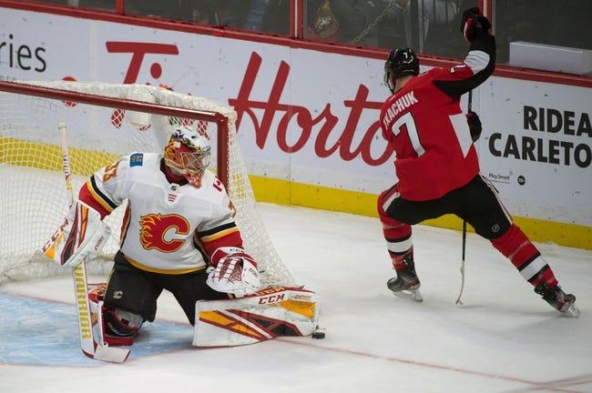 Ottawa Senators vs Calgary Flames NHL Picks, Odds, Predictions 2/25/21