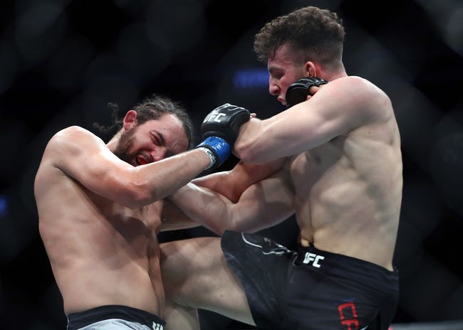 UFC Vegas 29: Aleksa Camur vs. Nicolae Negumereanu Picks and Predictions