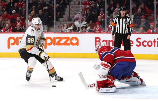 Montreal Canadiens at Vegas Golden Knights - 6/14/21 NHL Picks and Prediction