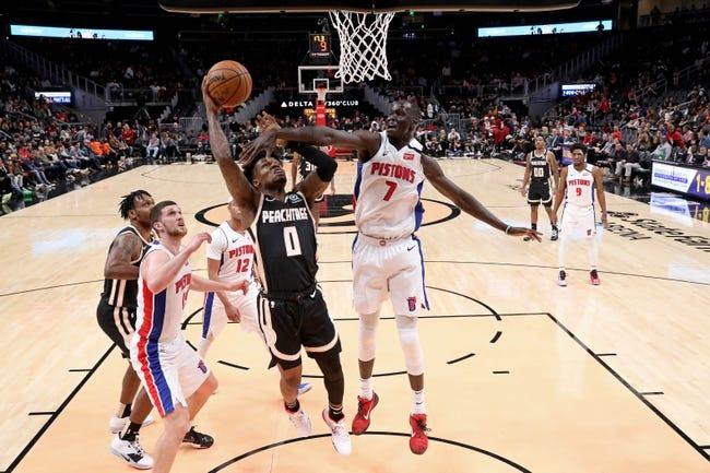 Atlanta Hawks vs Detroit Pistons NBA Picks, Odds, Predictions 12/28/20