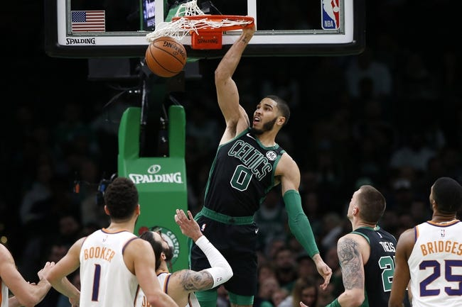 Boston Celtics at Phoenix Suns - 2/7/21 NBA Picks and Prediction