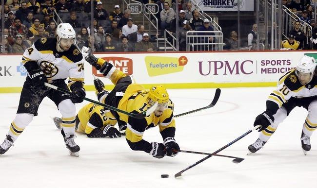 Boston Bruins vs Pittsburgh Penguins NHL Picks, Odds, Predictions 1/26/21