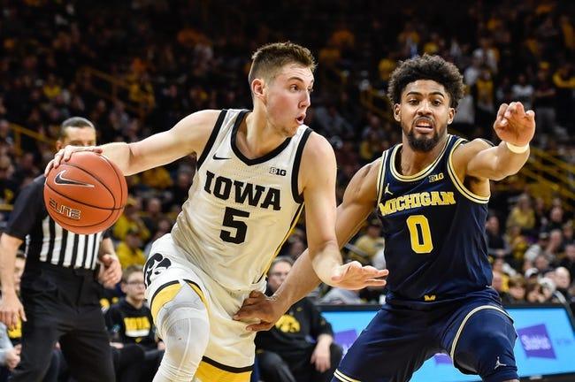Iowa at Michigan: 2/25/21 College Basketball Picks and Predictions