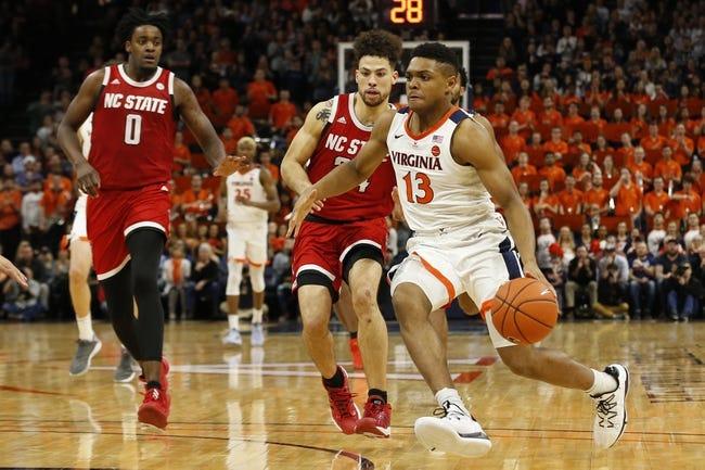 North Carolina State at Virginia:  2/24/21 College Basketball Picks and Predictions