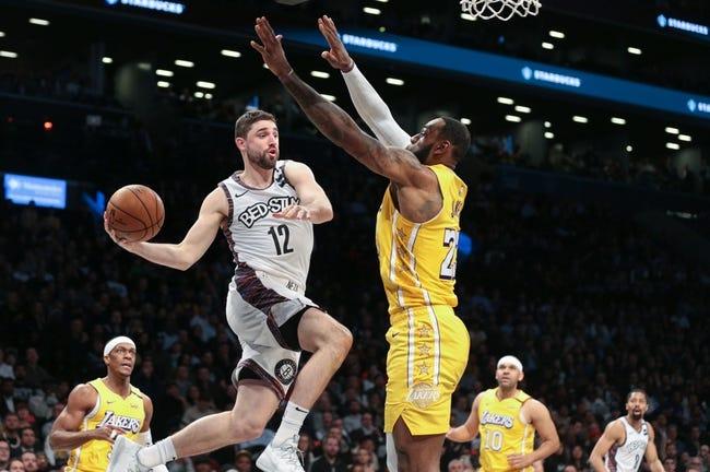 Brooklyn Nets at Los Angeles Lakers - 2/18/21 NBA Picks and Prediction