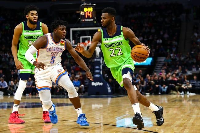 Minnesota Timberwolves at Oklahoma City Thunder - 2/5/21 NBA Picks and Prediction