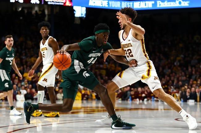 Minnesota vs Michigan State College Basketball Picks, Odds, Predictions 12/28/20