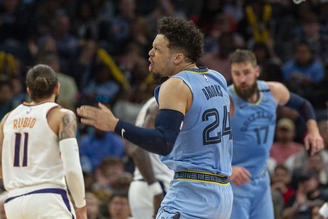 Phoenix Suns at Memphis Grizzlies - 1/18/21 NBA Picks and Prediction