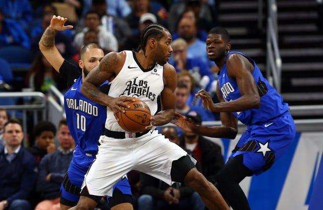Orlando Magic vs Los Angeles Clippers NBA Picks, Odds, Predictions 1/29/21