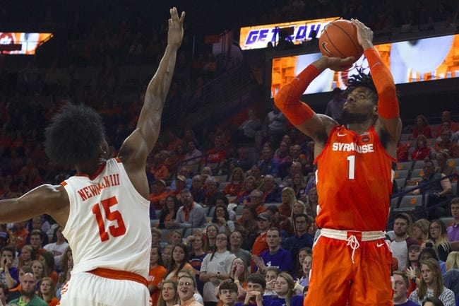 Clemson at Syracuse: 3/3/21 College Basketball Picks and Predictions