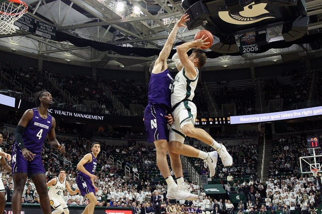 Northwestern vs Michigan State College Basketball Picks, Odds, Predictions 12/20/20