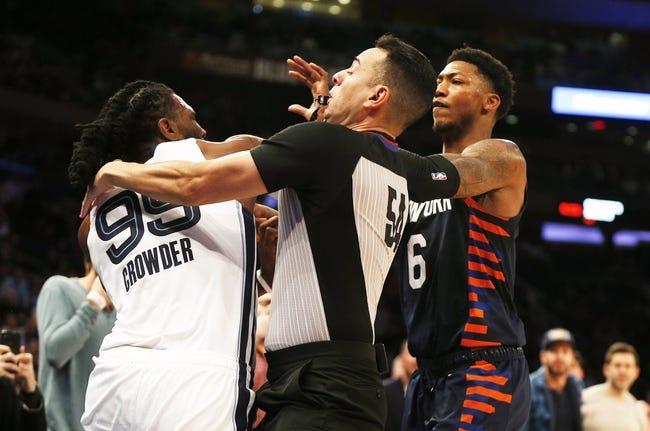 New York Knicks vs Memphis Grizzlies NBA Picks, Odds, Predictions 4/9/21