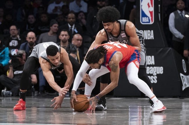 Detroit Pistons vs Brooklyn Nets NBA Picks, Odds, Predictions 2/9/21