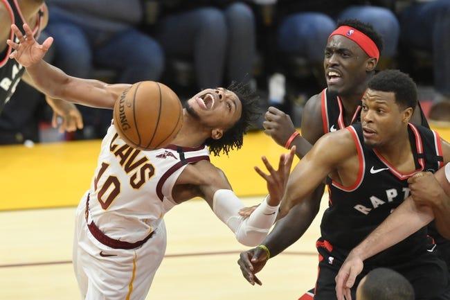 Toronto Raptors at Cleveland Cavaliers - 3/21/21 NBA Picks and Prediction