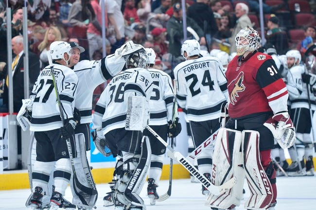 Arizona Coyotes vs Los Angeles Kings NHL Picks, Odds, Predictions 2/18/21
