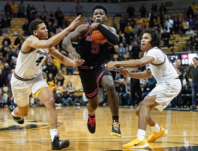 Missouri  at Georgia  - 2/16/21 College Basketball Picks and Prediction