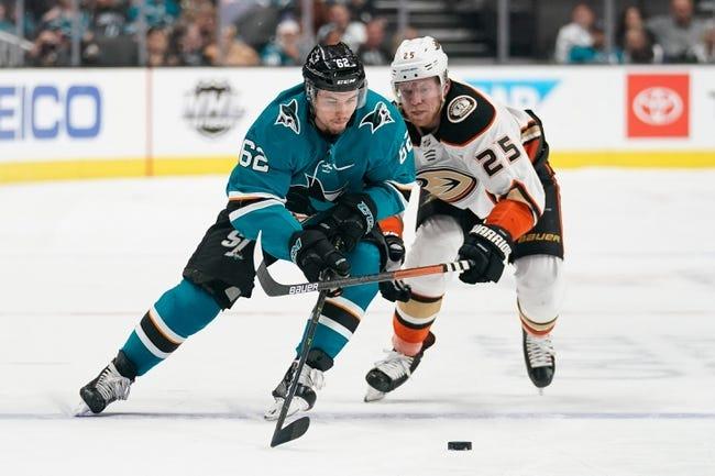 Anaheim Ducks vs San Jose Sharks NHL Picks, Odds, Predictions 2/5/21