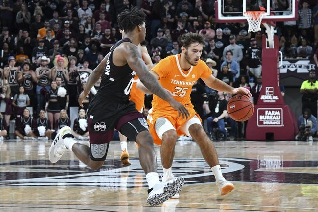 Mississippi State at Tennessee  - 1/26/21 College Basketball Picks and Prediction