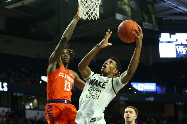 Clemson at Wake Forest: 2/24/21 College Basketball Picks and Predictions