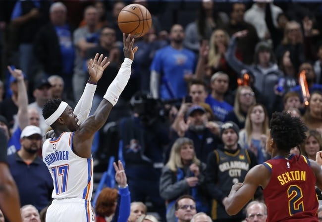 Cleveland Cavaliers vs Oklahoma City Thunder NBA Picks, Odds, Predictions 2/21/21