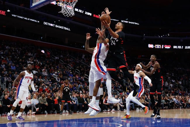 Postponed: Detroit Pistons at Toronto Raptors - 3/2/21 NBA Picks and Prediction
