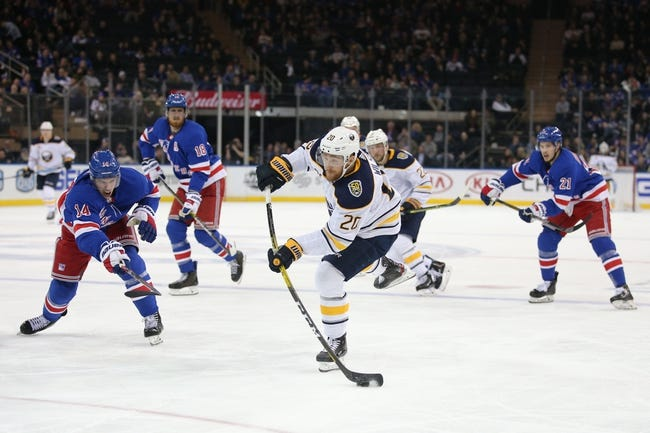 Buffalo Sabres vs New York Rangers NHL Picks, Odds, Predictions 1/26/21