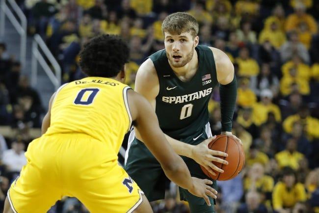 Michigan State at Michigan: 3/4/21 College Basketball Picks and Predictions