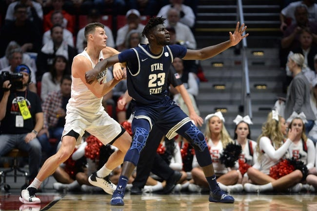 Utah State at San Diego State: 3/13/21 College Basketball Picks and Prediction