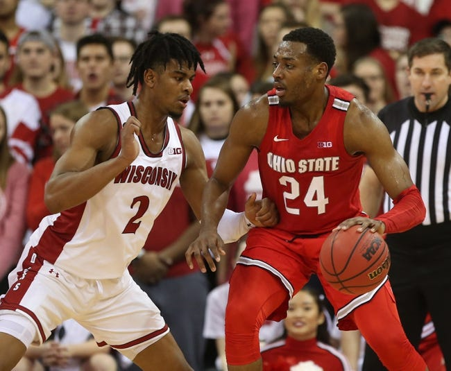 Ohio State at Wisconsin: 1/23/21 College Basketball Picks and Prediction