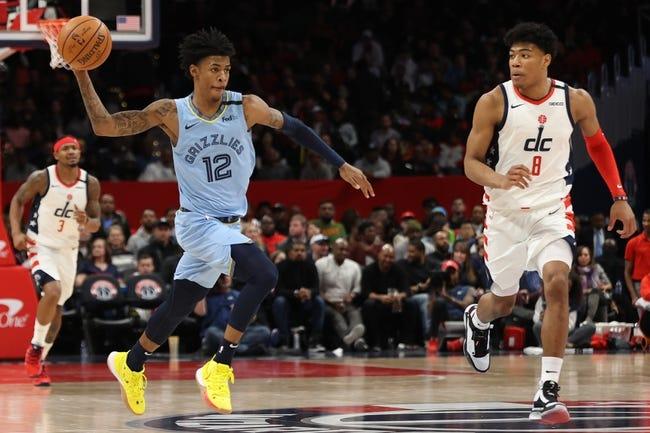 Washington Wizards vs Memphis Grizzlies NBA Picks, Odds, Predictions 3/2/21