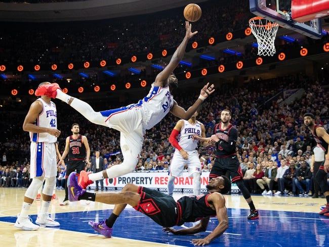 Philadelphia 76ers vs Chicago Bulls NBA Picks, Odds, Predictions 2/19/21