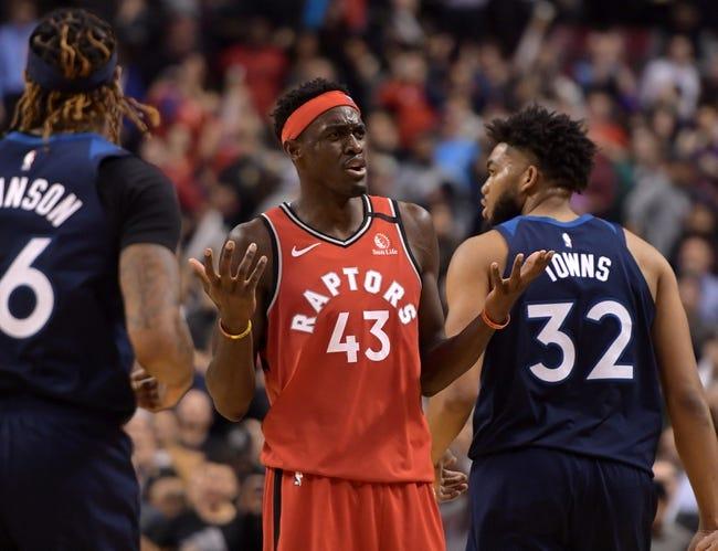 Toronto Raptors vs Minnesota Timberwolves NBA Picks, Odds, Predictions 2/14/21