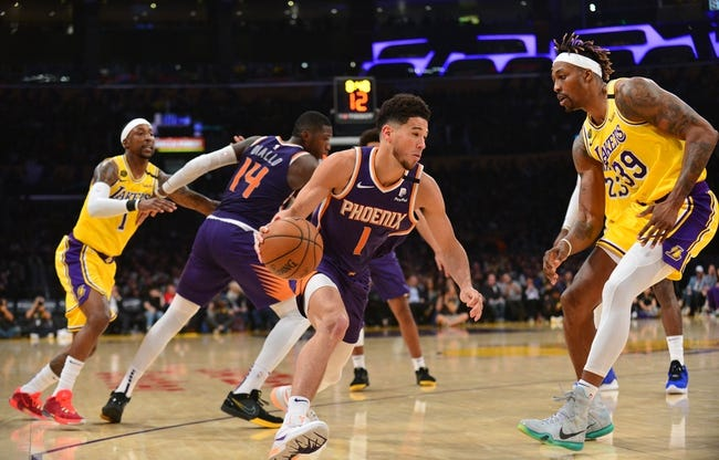 Phoenix Suns vs. Los Angeles Lakers NBA Picks, Odds, Predictions 12/18/20
