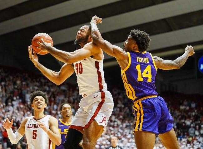 Alabama at LSU  - 1/19/21 College Basketball Picks and Prediction