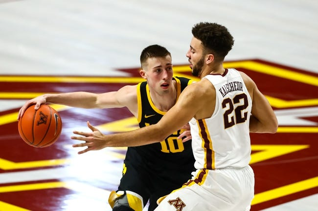 Iowa vs Minnesota College Basketball Picks, Odds, Predictions 1/10/21