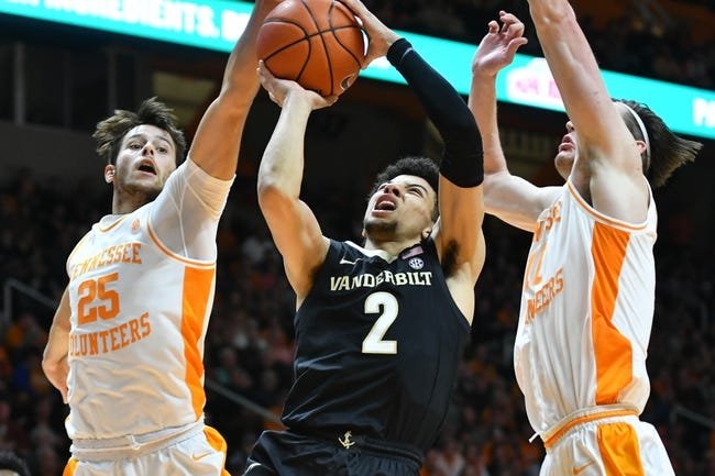 Vanderbilt at Tennessee: 1/16/21 College Basketball Picks and Predictions