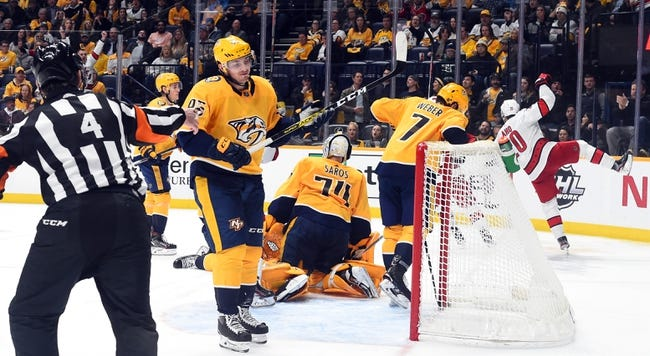 Nashville Predators vs Carolina Hurricanes NHL Picks, Odds, Predictions 1/18/21