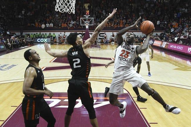 Virginia Tech vs Miami College Basketball Picks, Odds, Predictions 12/29/20