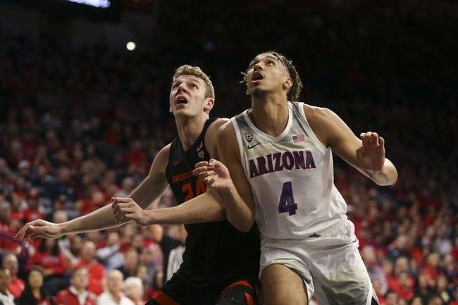 Oregon State vs Arizona College Basketball Picks, Odds, Predictions 1/14/21