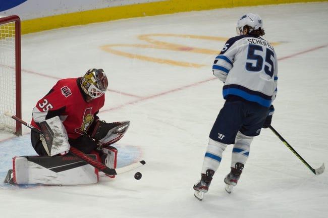 Ottawa Senators vs Winnipeg Jets NHL Picks, Odds, Predictions 1/19/21